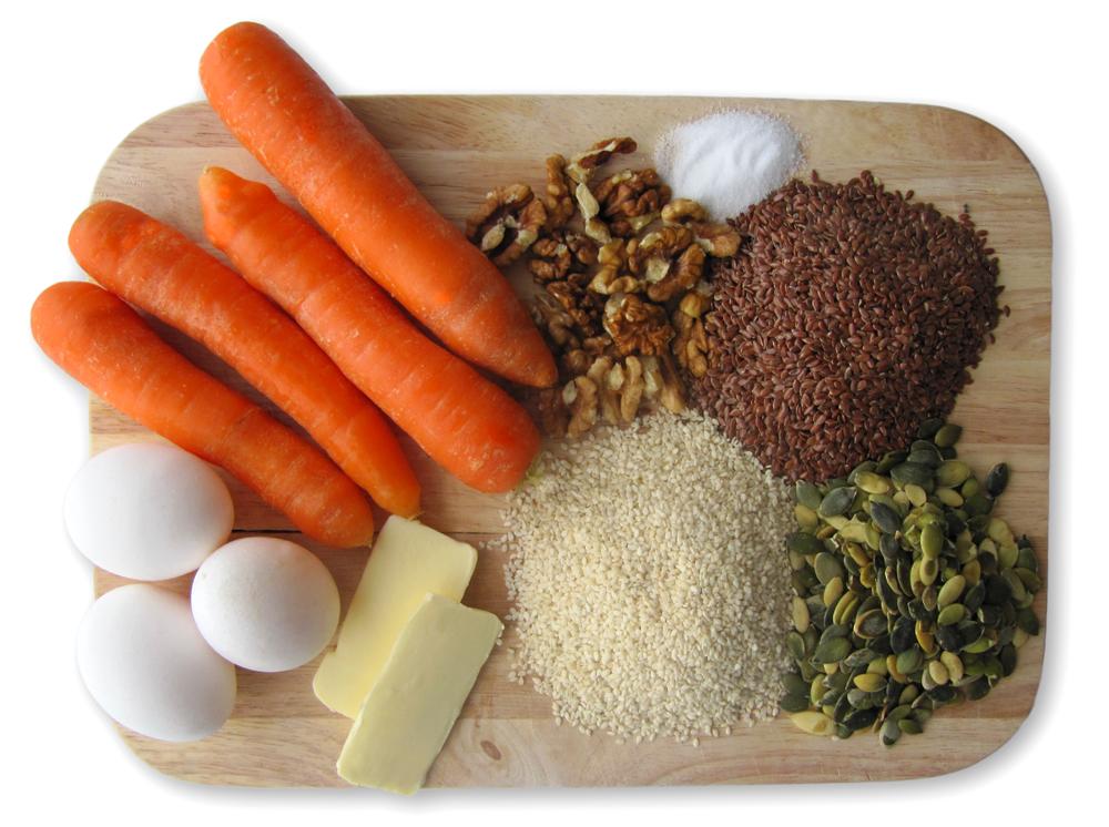 Paleo boller Ingredienser